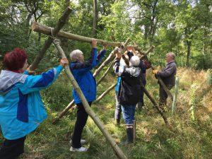 Bushcraft session @ Oxlip Wood | Sudborough | England | United Kingdom
